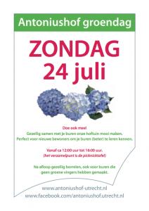 Antoniushof_groendagen 24-07-16